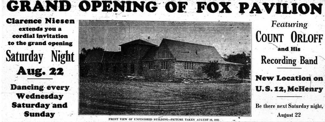 Grand Opening of New Fox Saturday - August 20, 1931 p.3