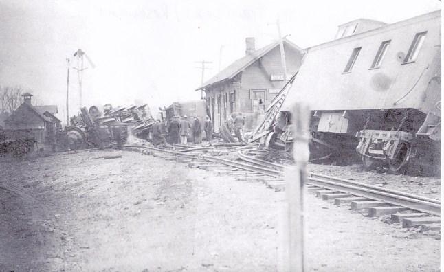 train crash where now is the Train Depot Restaurant