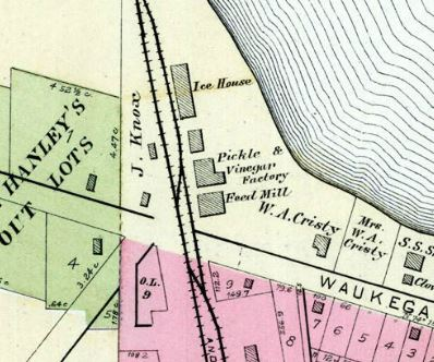 1892 Map of Pickle Factory