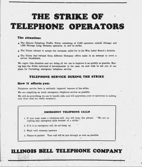 Illinois Bell Notice
